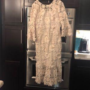 Just me Lace long dress